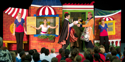 The Barber of Seville in schools