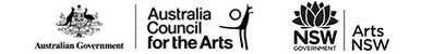 Australia Council & Arts NSW logo