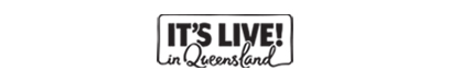 It's live in Queensland logo