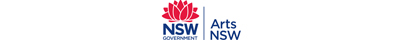 Trade & Investment Arts NSW logo with red waratah