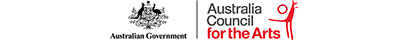 Australian Government & Australia Council for the Arts logos