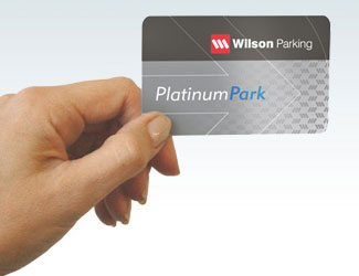 Wilson Parking Platinum card